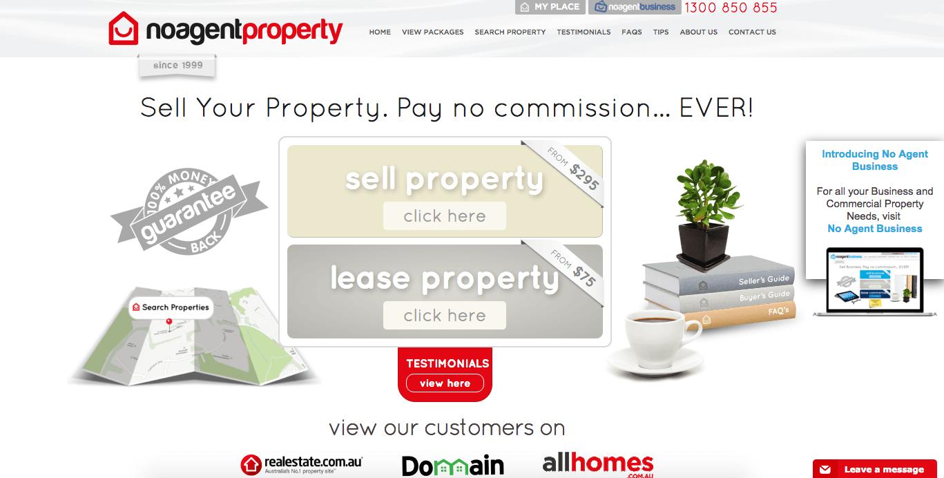 no agent property screenshot