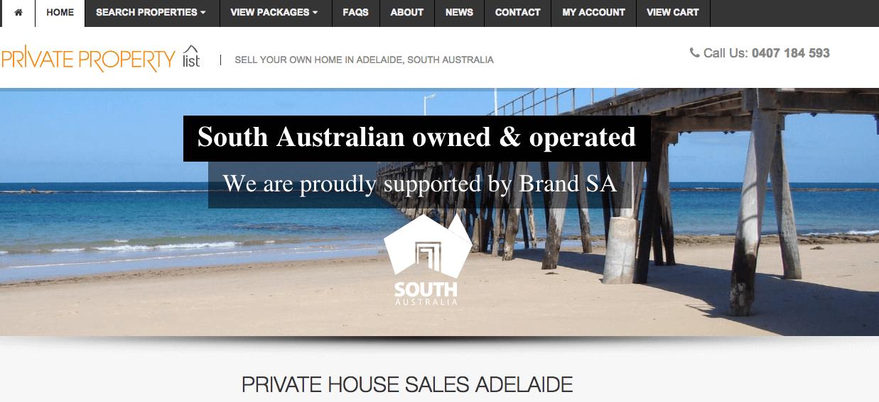 private property list screenshot