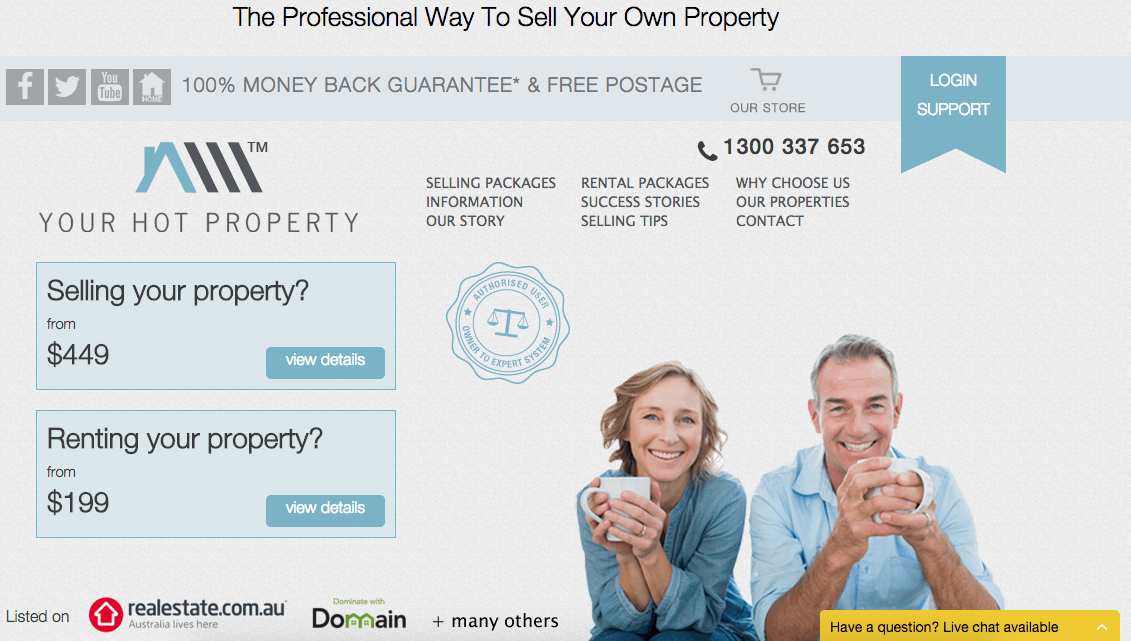 your hot property