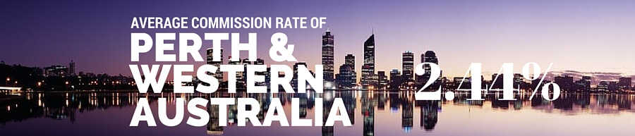 Perth and Western Australia Real Estate Agent Commission Rate
