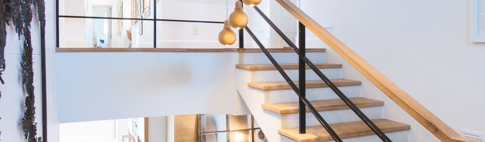 Real estate stairs interior