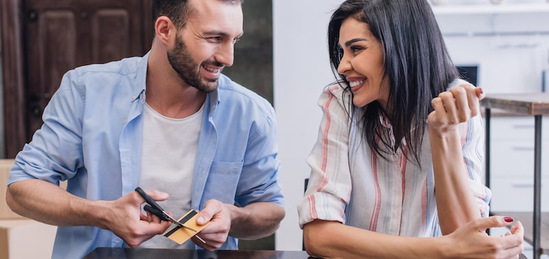 Pay credit cards to reduce mortgage stress